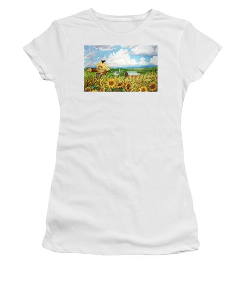 Scarecrow Farm Women's T-Shirt (Athletic Fit)