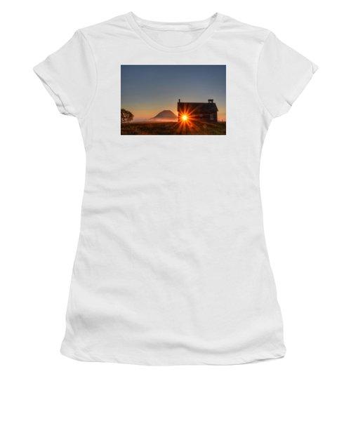 Schoolhouse Sunburst Women's T-Shirt