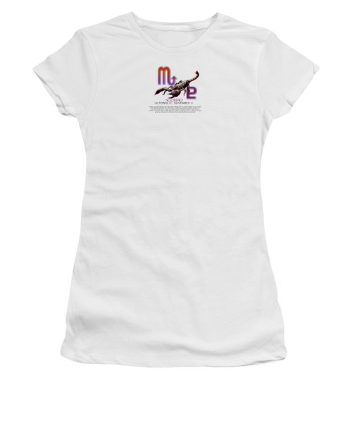 Scorpio Sun Sign Women's T-Shirt (Athletic Fit)