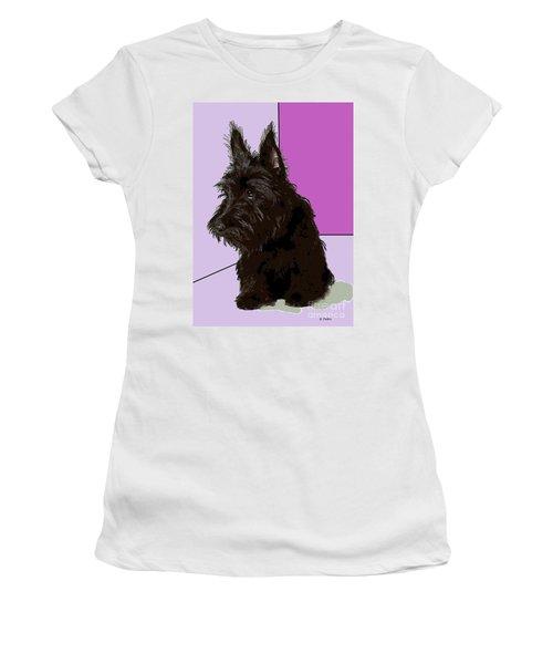 Scottish Terrier Women's T-Shirt (Athletic Fit)