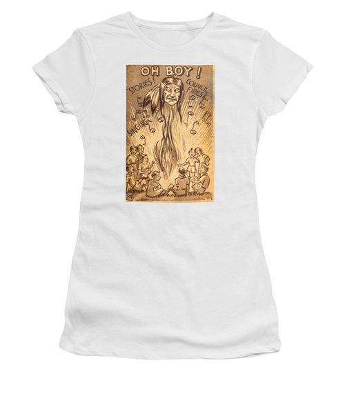 Scouting Postcard 1948 Women's T-Shirt