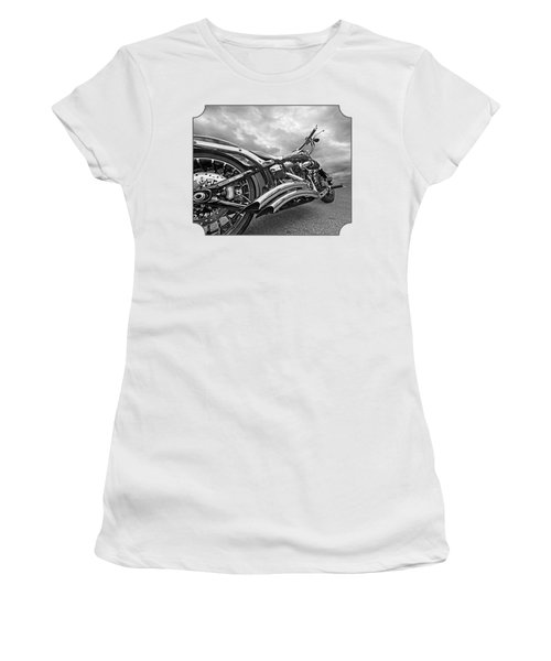 Screamin Eagle 103 In Black And White Women's T-Shirt