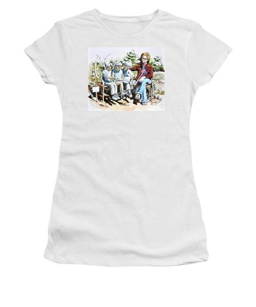 Lasting Pupils Women's T-Shirt (Athletic Fit)