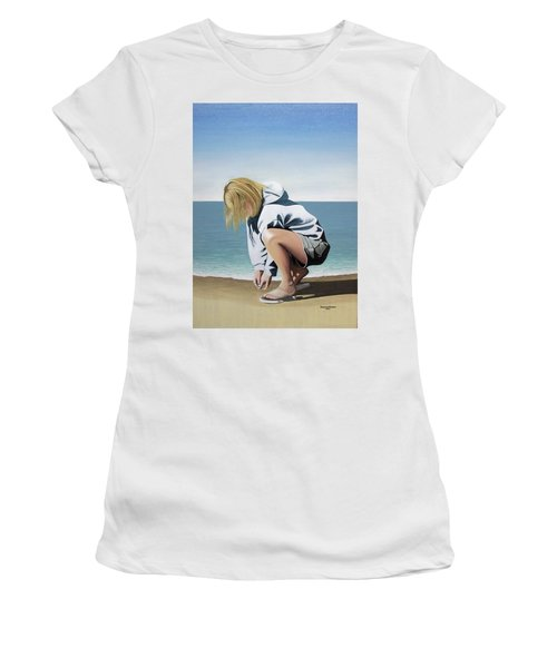 Sea Shells On The Beach Women's T-Shirt