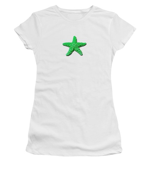 Sea Star Green .png Women's T-Shirt