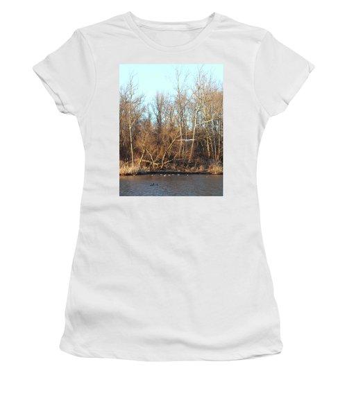 Seagull Flying Women's T-Shirt