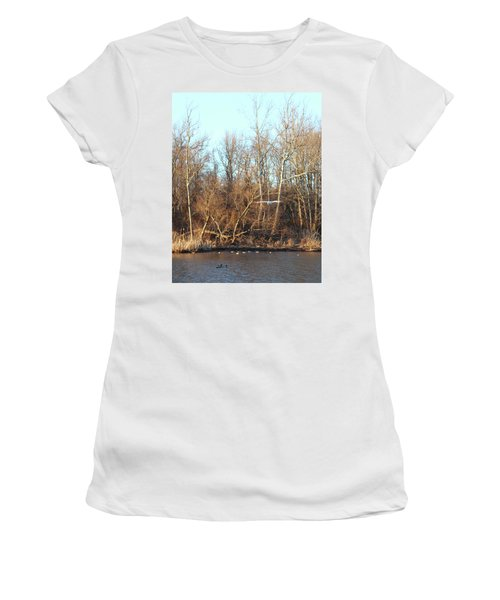 Seagull Flying Women's T-Shirt