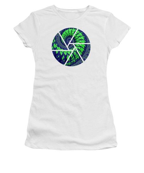 Seahawks Spiral Women's T-Shirt