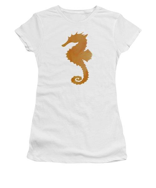 Seahorse Women's T-Shirt (Junior Cut) by Mordax Furittus