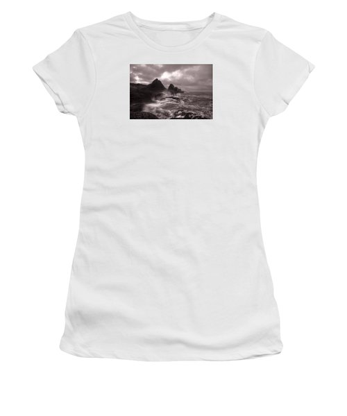 Seal Rock Thunder Women's T-Shirt (Athletic Fit)