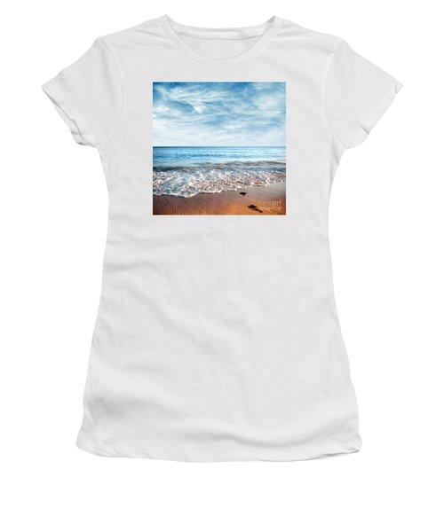 Seashore Women's T-Shirt (Athletic Fit)