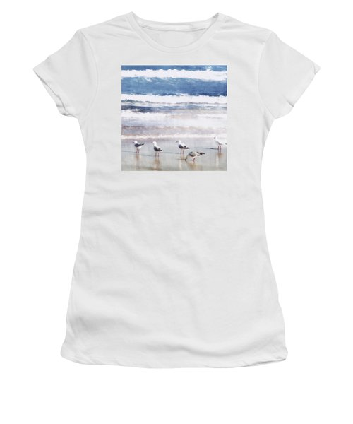 Seaspray Women's T-Shirt (Athletic Fit)
