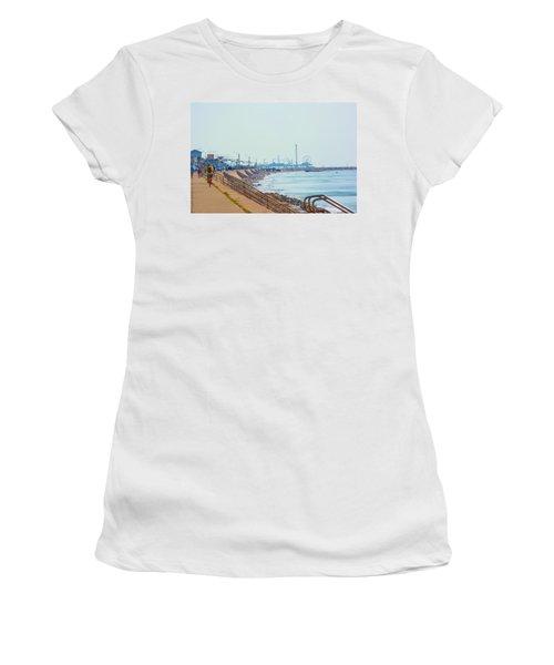 Seawall Blvd Women's T-Shirt