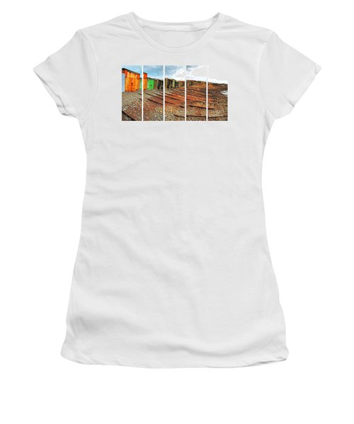 Second Valley Boat Sheds Women's T-Shirt