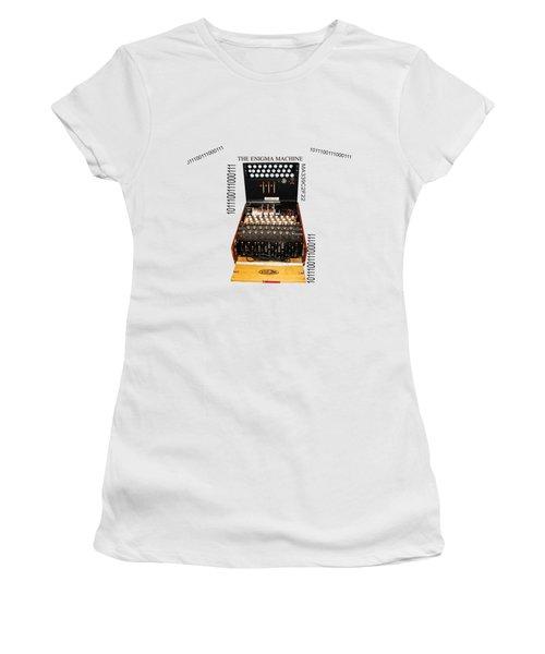 Secret Messages  Women's T-Shirt (Athletic Fit)