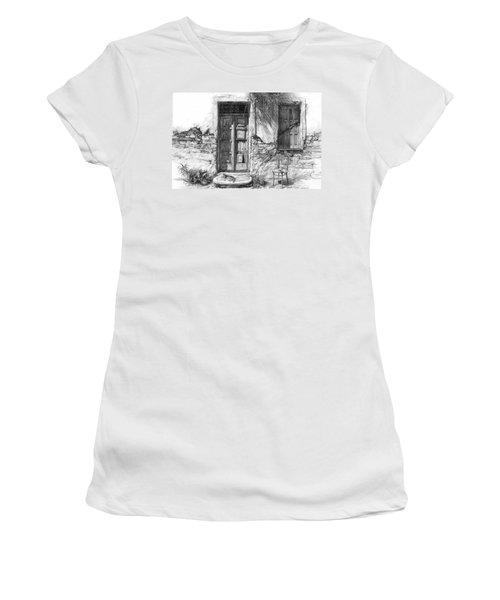 Secret Of The Closed Doors Women's T-Shirt