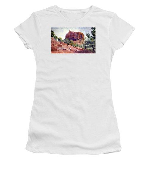 Sedona Butte Women's T-Shirt (Athletic Fit)