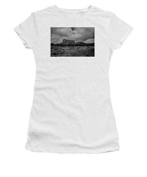 Sedona Red Rock Country Arizona Bnw 0177 Women's T-Shirt (Junior Cut) by David Haskett