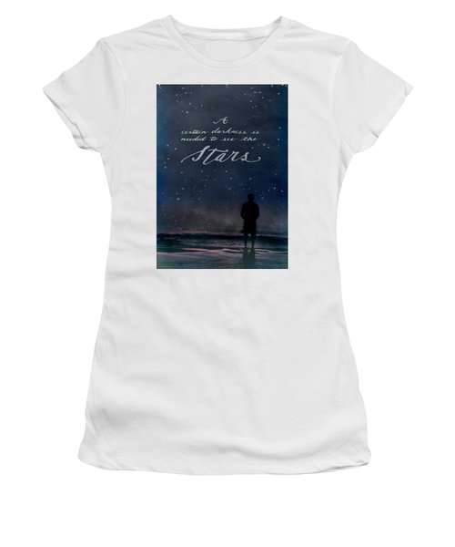 See The Stars Women's T-Shirt (Athletic Fit)