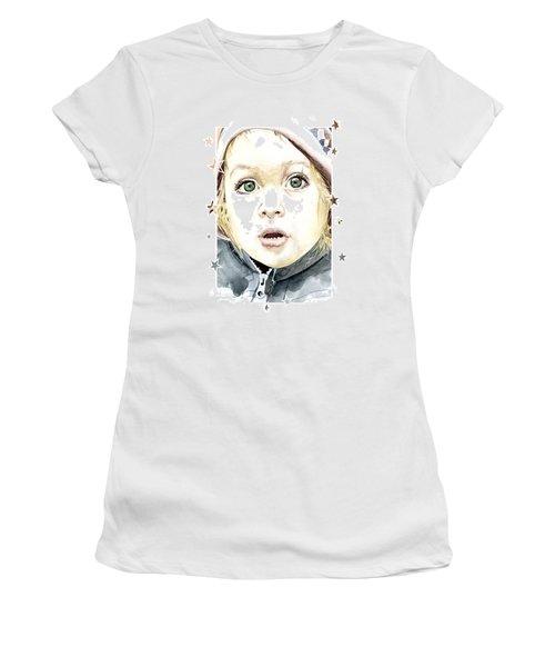 See The World Through My Eyes  Women's T-Shirt (Junior Cut) by Alban Dizdari