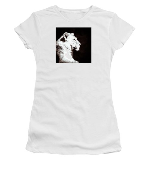 Women's T-Shirt (Junior Cut) featuring the photograph Seeing Double II by Wade Brooks