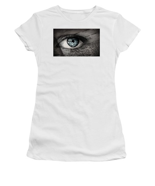Seek The Truth Women's T-Shirt (Athletic Fit)