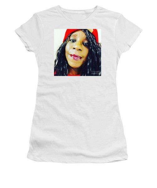 Selfie  Women's T-Shirt (Athletic Fit)