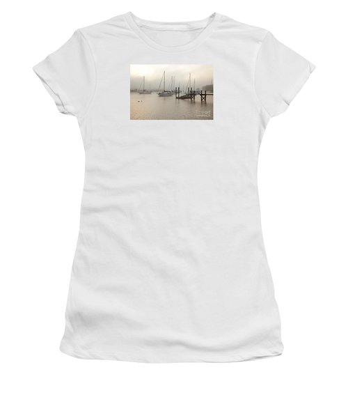 September Fog I Women's T-Shirt (Junior Cut) by Butch Lombardi