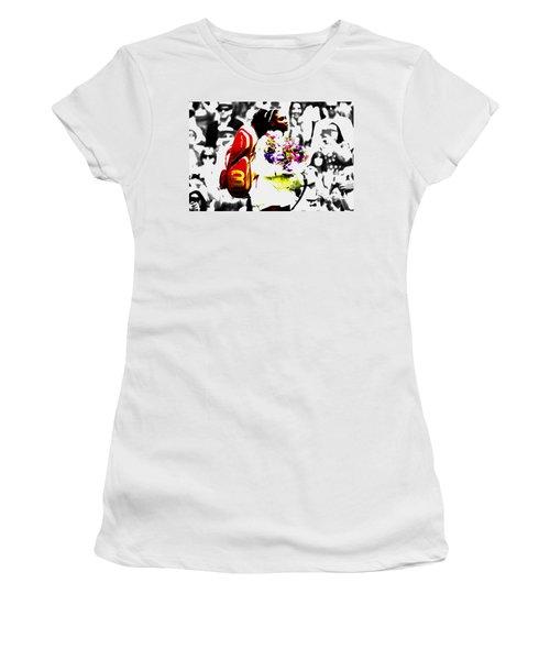Serena Williams 2f Women's T-Shirt (Junior Cut) by Brian Reaves