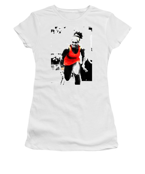 Serena Williams Go Get It Women's T-Shirt (Athletic Fit)