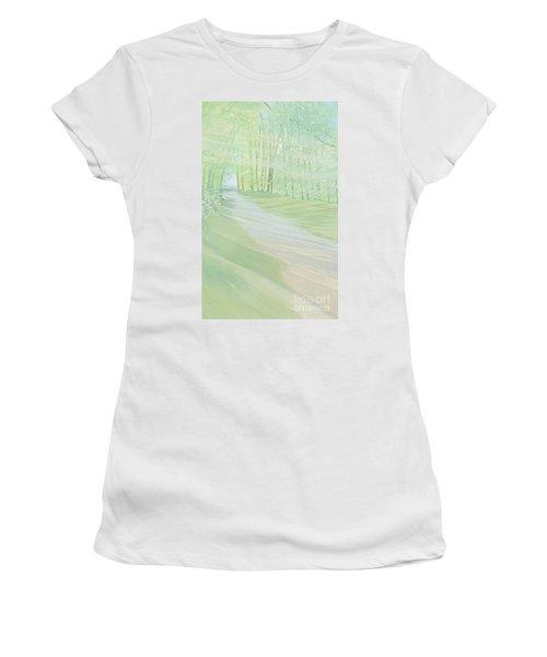 Serenity Women's T-Shirt (Junior Cut) by Joanne Perkins