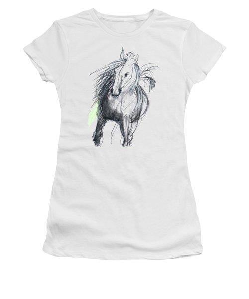 Sergei Women's T-Shirt (Junior Cut) by Carolyn Weltman