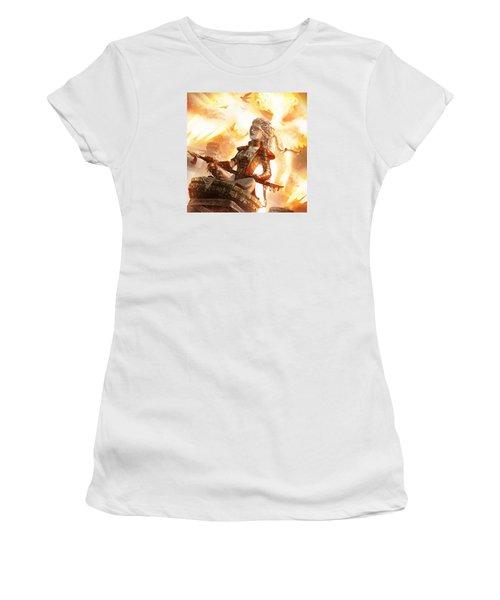 Serra Avatar Women's T-Shirt (Athletic Fit)