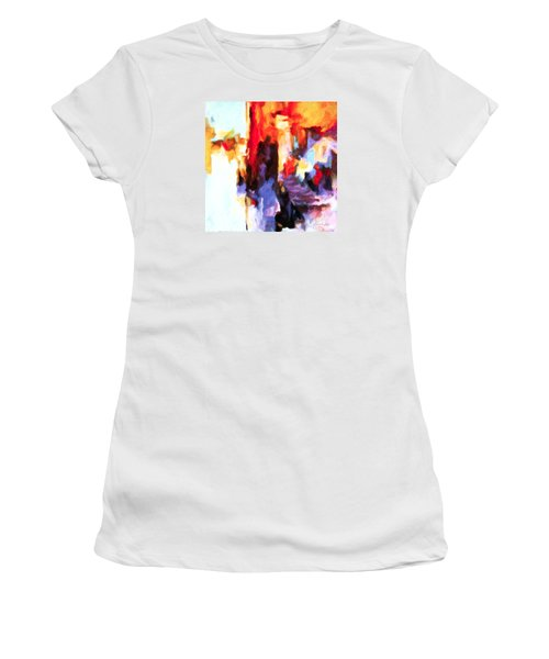 Seven Steps Women's T-Shirt (Junior Cut) by Chris Armytage
