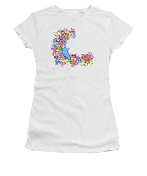 Shades Of Iris Women's T-Shirt