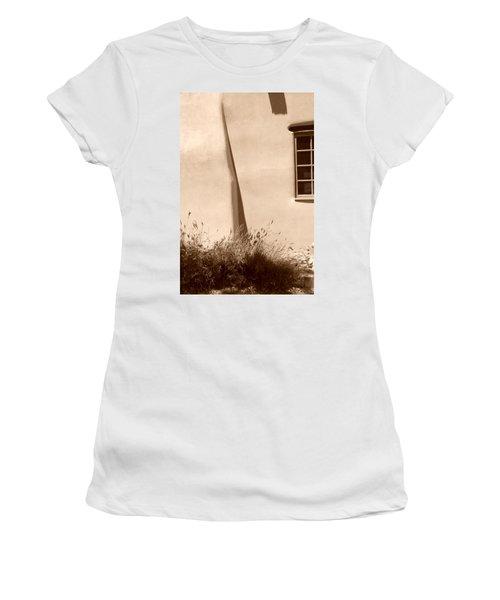 Shadows And Light In Santa Fe Women's T-Shirt