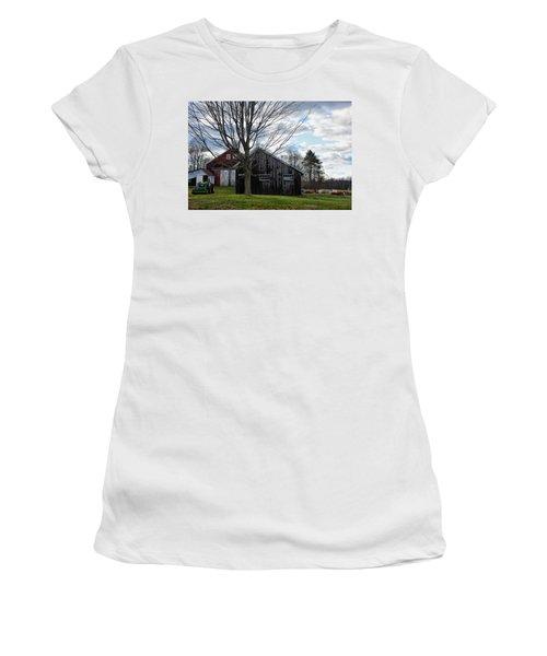 Shaw Hill Farm Women's T-Shirt (Athletic Fit)