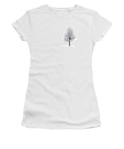 She Said She'd Come Women's T-Shirt (Junior Cut) by Yvette Van Teeffelen