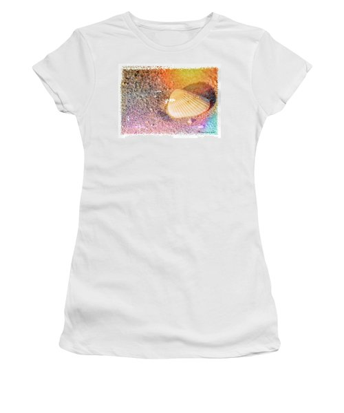 Women's T-Shirt (Junior Cut) featuring the photograph Shelling Out by Marvin Spates