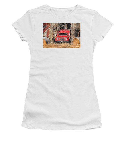 Shelter From The Weather Women's T-Shirt (Athletic Fit)