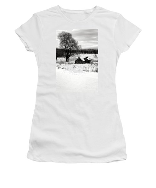 Shelters In The Snow Women's T-Shirt