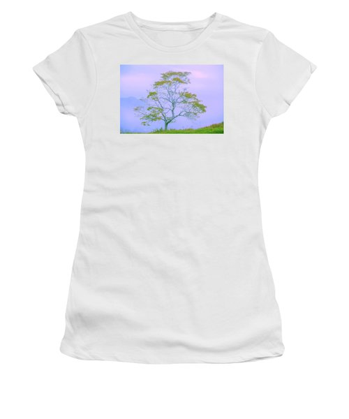 Women's T-Shirt (Athletic Fit) featuring the photograph Shepherd Of The Valley by Az Jackson