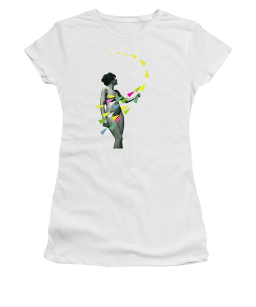 She's A Whirlwind Women's T-Shirt (Athletic Fit)