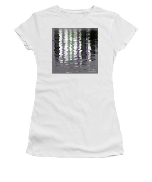 Women's T-Shirt (Athletic Fit) featuring the photograph Shimmer by Wendy Wilton