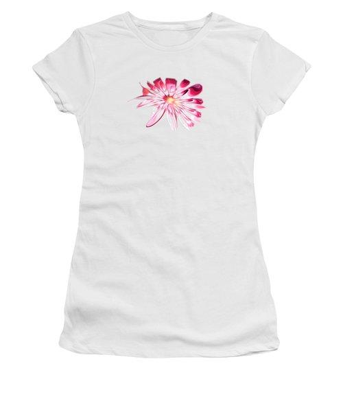 Shining Pink Flower Women's T-Shirt