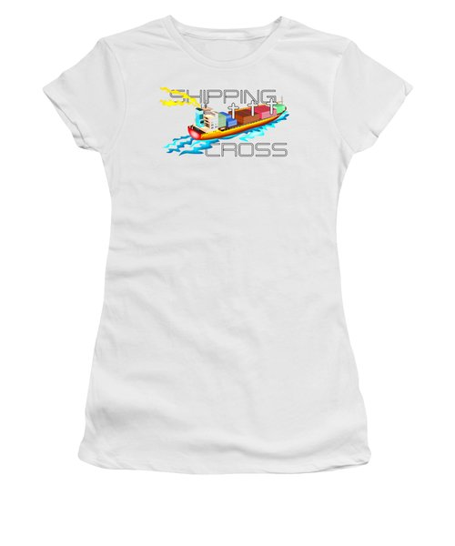 Shipping Cross Women's T-Shirt