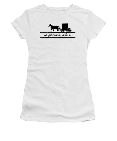 Shipshewana T-shirt Design Women's T-Shirt (Athletic Fit)