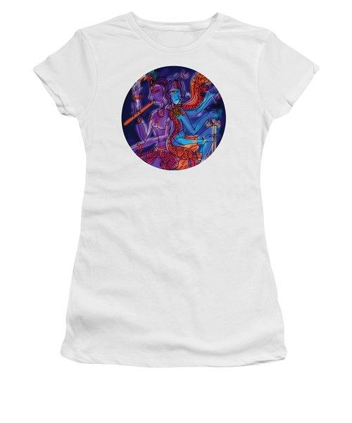 Shiva And Krishna Women's T-Shirt