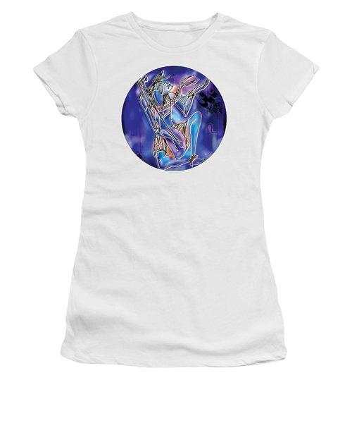 Shiva Playing Vina Women's T-Shirt
