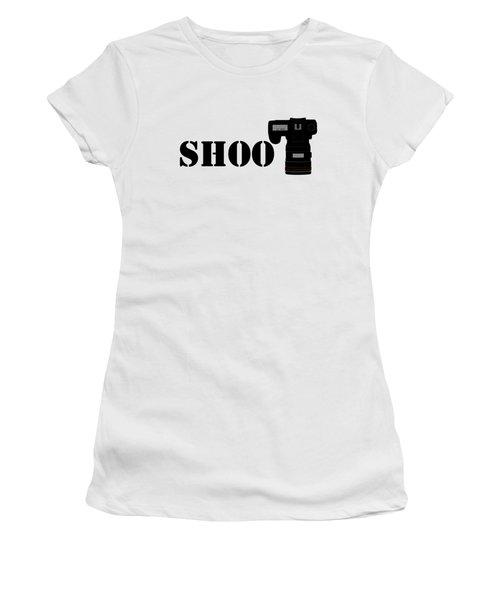 Shoot Women's T-Shirt (Athletic Fit)